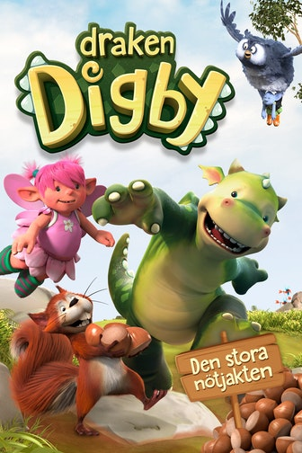 Digby Dragon - The Great nut hunt